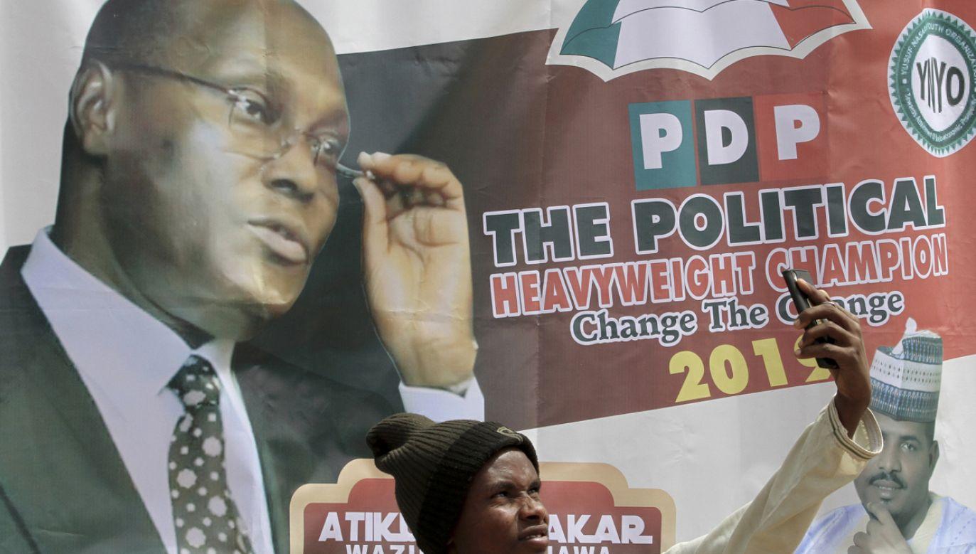 Jednym z kandydatów na prezydenta  jest przedstawiciel opozycji Atiku Abubakar (fot. PAP/EPA/GEORGE ESIRI)