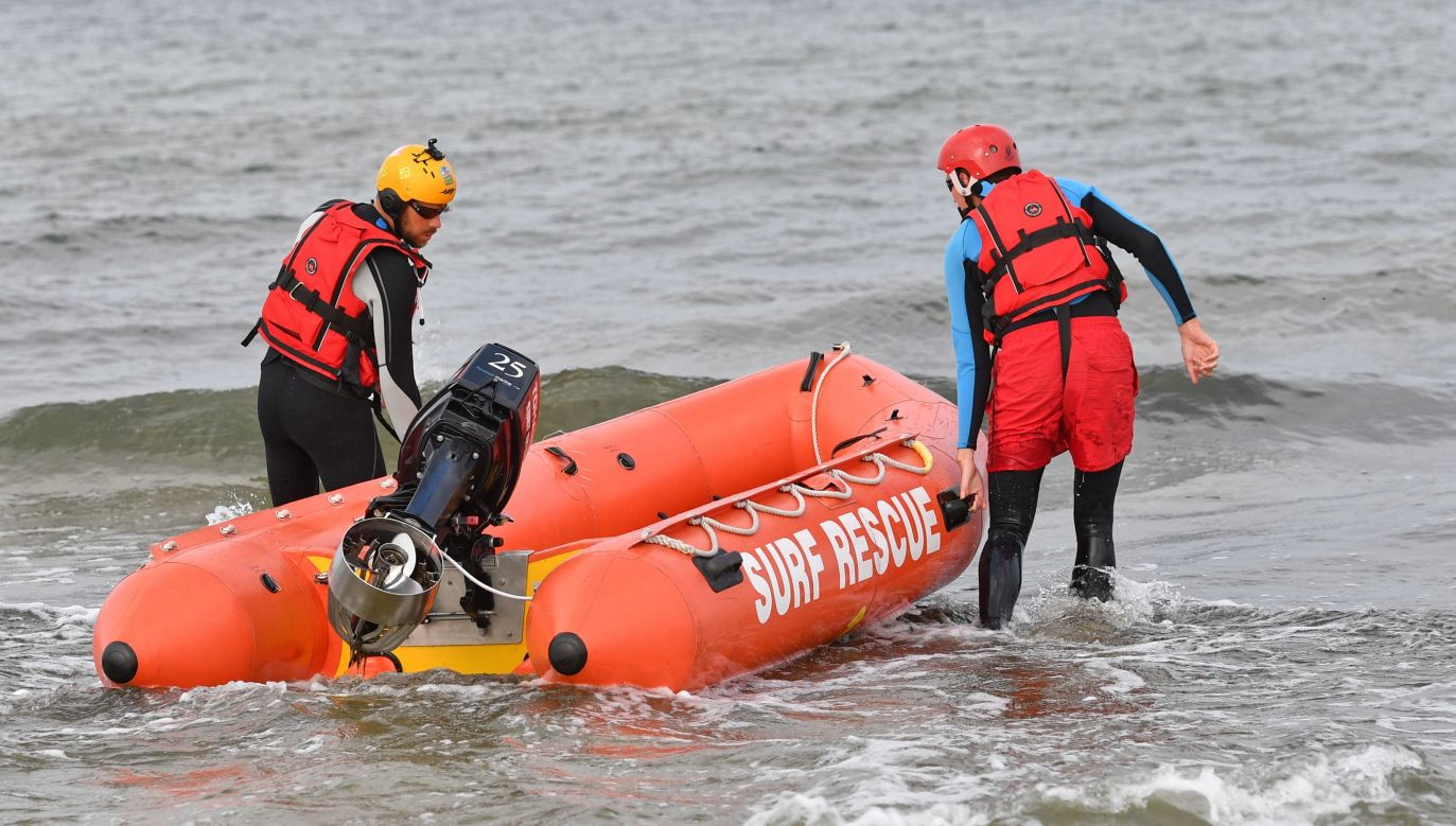 The bodies were found near the shore in Darłówko after several days of searching. Photo: PAP/Marcin Bielecki