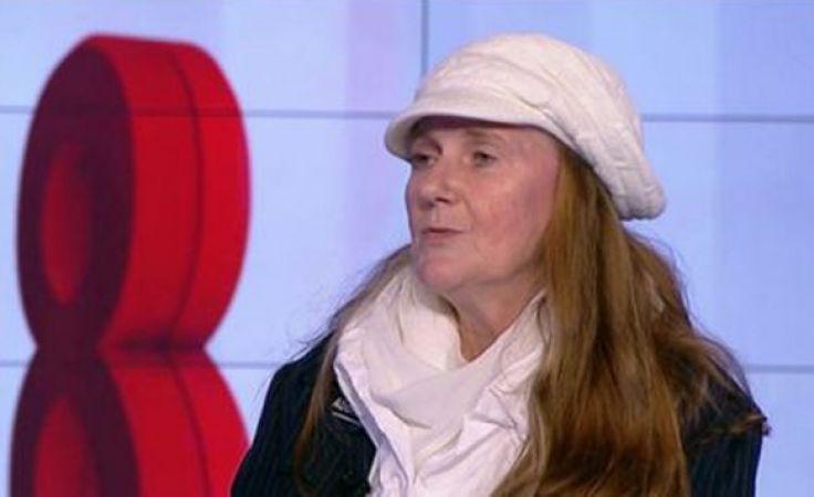 Irena van der Wende walczy o ochronę dzieci poczętych (fot. TVP Info)