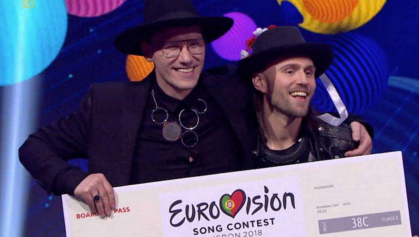 Duet Gromee i Lukas Meijer (fot. twitter.com/Eurovision)