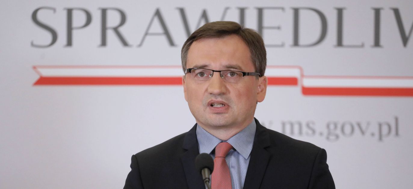 """""""I have high hopes for the Supreme Court's Disciplinary Chamber,"""" said Mr Ziobro. Photo: PAP/Paweł Supernak"""