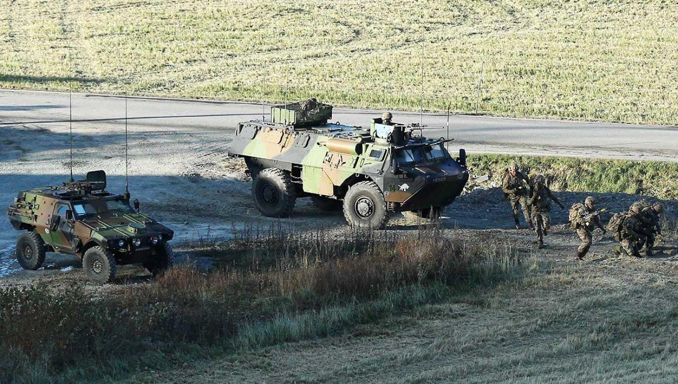 Do wypadku doszło podczas manewrów z udziałem wojsk NATO (fot. Dursun Aydemir/Anadolu Agency/Getty Images)