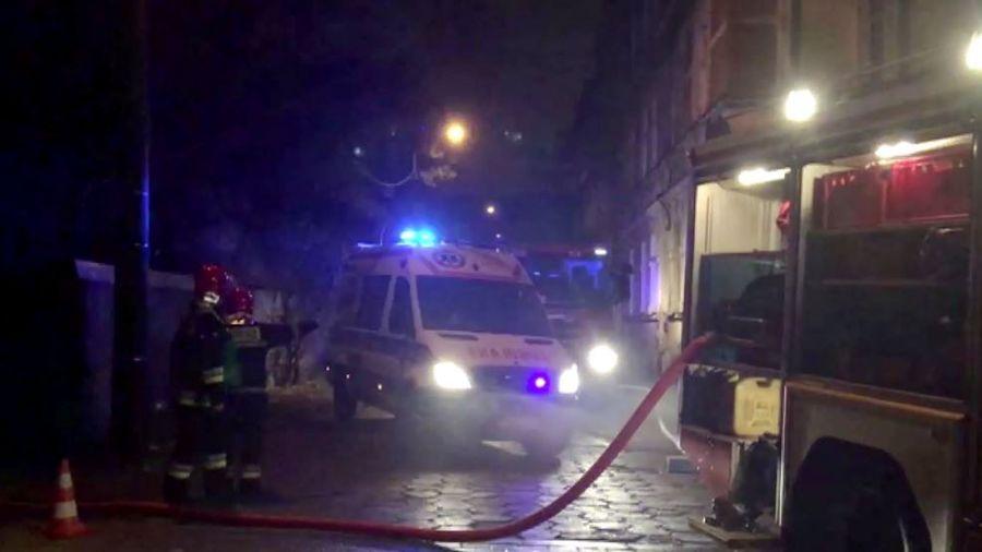 Pożar Garażu W Olsztynie W środku Znaleziono Ciało Kobiety Wideo