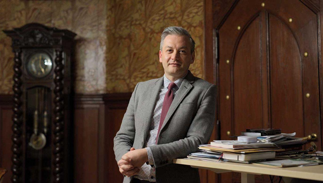 Robert Biedroń i Sławomir Neumann różnią się w ocenie tego, kto wygrał pozew w trybie wyborczym (fot. arch. PAP/MArcin Kaliński)