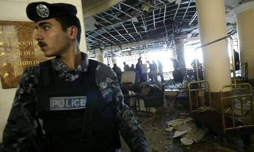 Zamach w Jordanii (fot. Salah Malkawi/Getty Images))