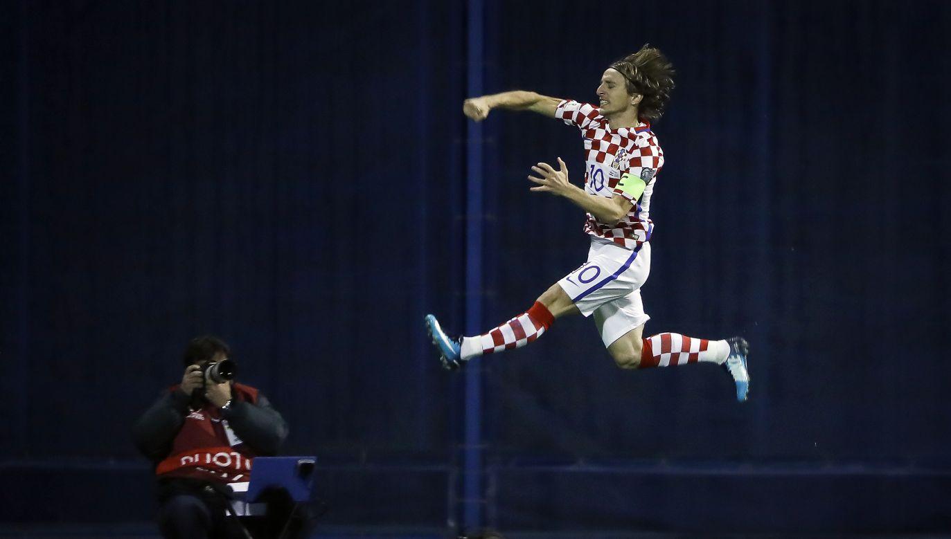 Kapitan reprezentacji Chorwacji wymieniany jest w gronie faworytów do nagrody zawodnika turnieju (fot. Srdjan Stevanovic/Getty Images)
