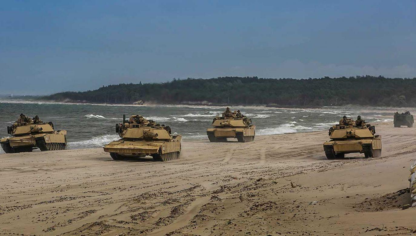 Ćwiczenia Baltic Operations (BALTOPS) 2018 w Ustce (fot. REUTERS/U.S. Marine Corps/Staff Sgt. Dengrier M. Baez)