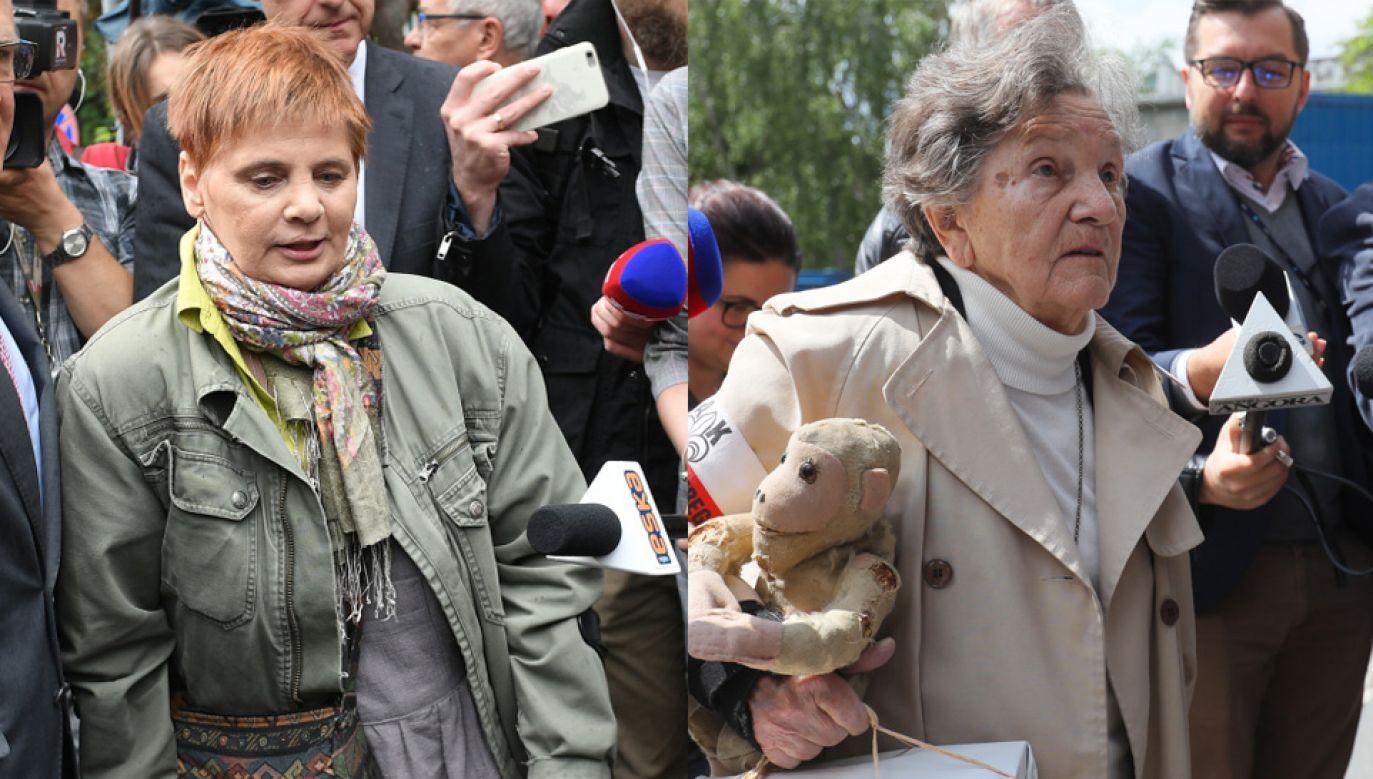 Janina Ochojska i Wanda Traczyk-Stawska (fot. PAP/Marcin Obara, PAP/Paweł Supernak)