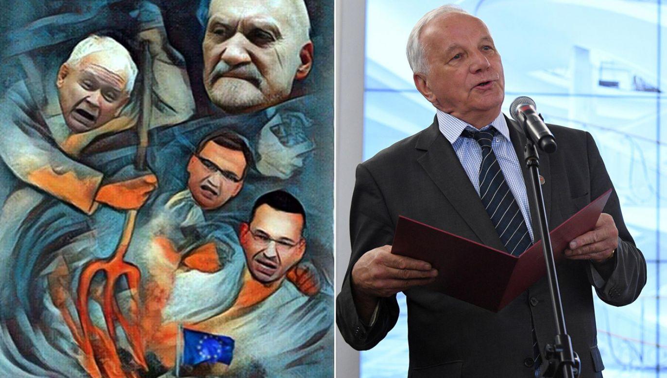 Komentarze dotyczące wpisu posła PO Grzegorza Furgo (fot. tt/Piotr Woźniak/arch.PAP/Jacek Turczyk)