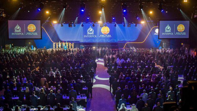 W Dubaju odbywa się Zgromadzenie Ogólne Interpolu, które ma wyłonić nowego szefa tej organizacji (fot. TT/INTERPOL)