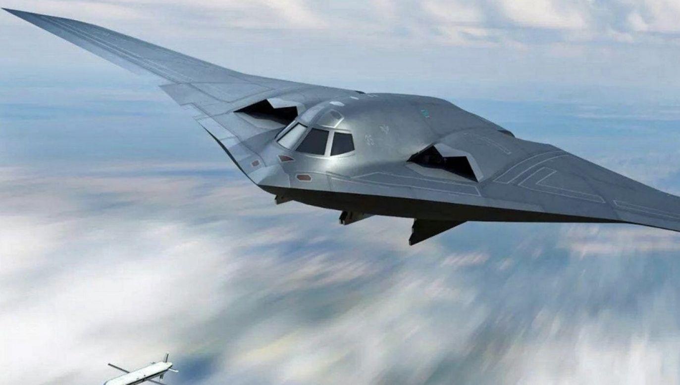 Bombowiec strategiczny Hong-20 przypuszczalnie będzie zbudowany w układzie latającego skrzydła (fot. TT/jc_mittelstadt)