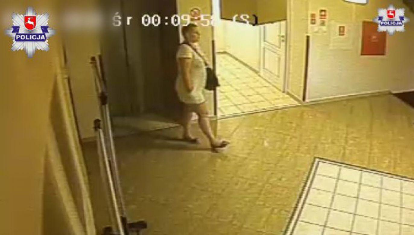 Jeżeli ktoś rozpozna kobietę jest proszony o kontakt z policją (fot. Policja Lubelska)