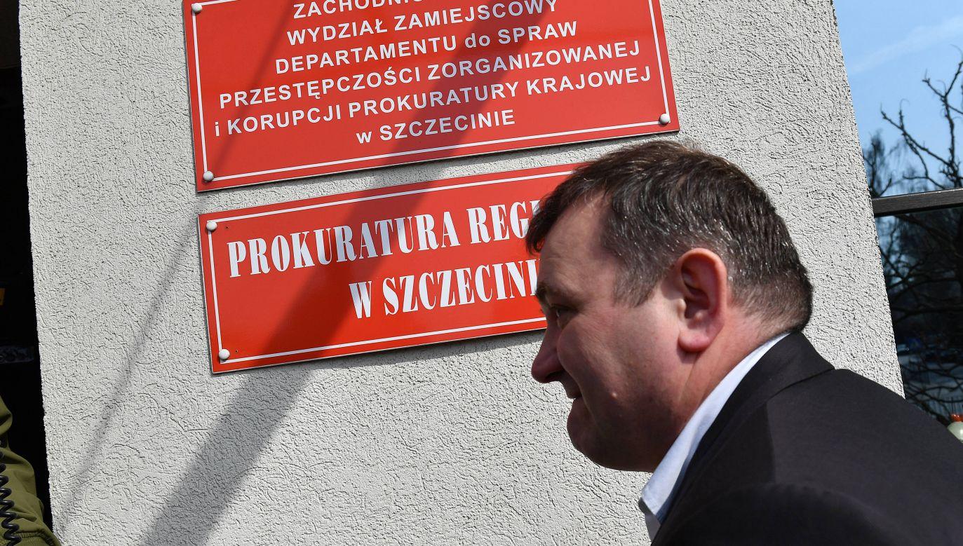 Polityk PO Stanisław Gawłowski usłyszał zarzuty i został aresztowany (fot. arch. PAP/Marcin Bielecki)