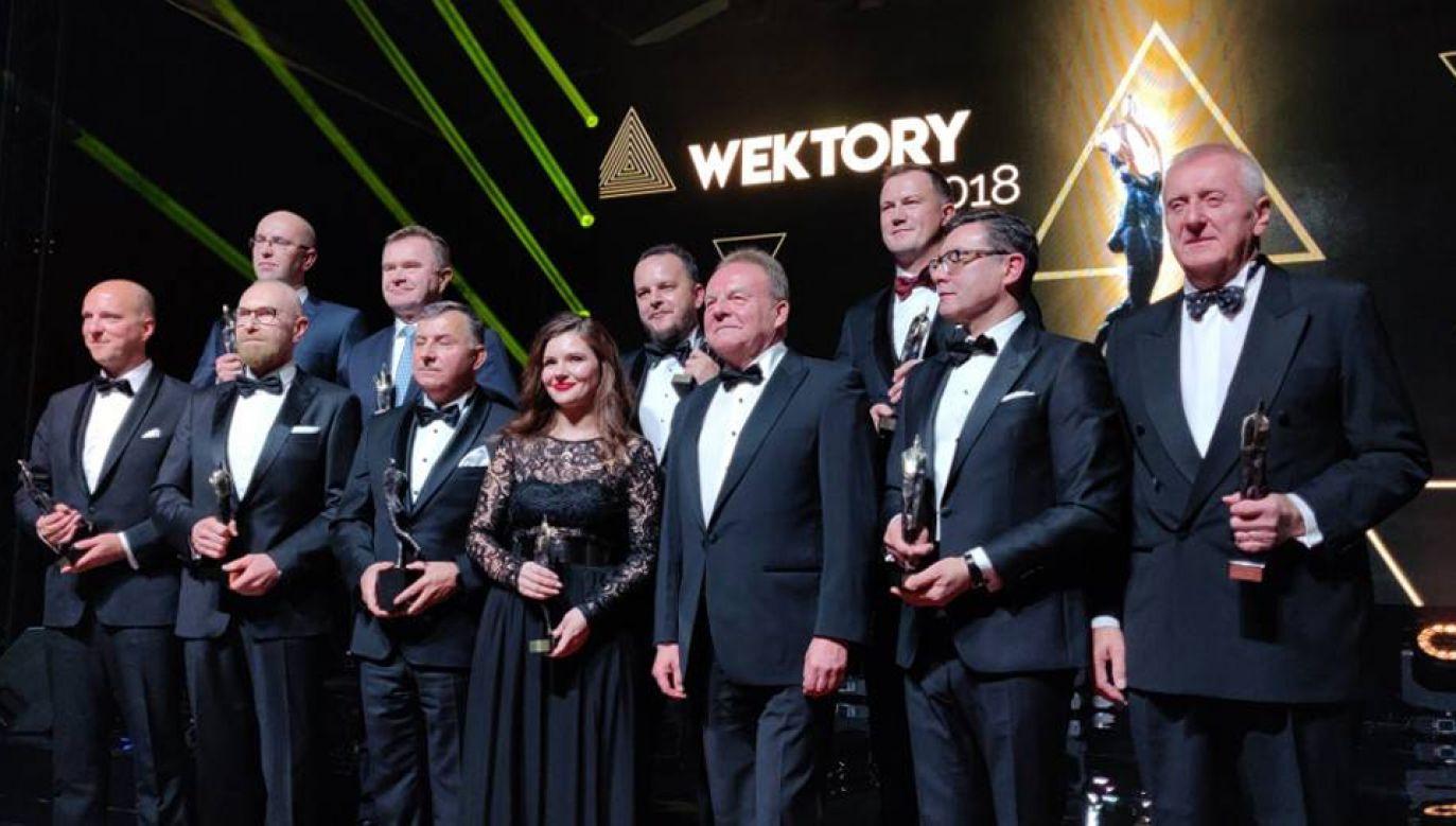 Pracodawcy RP przyznali Wektory 2018 (fot. pracodawcyrp.pl)