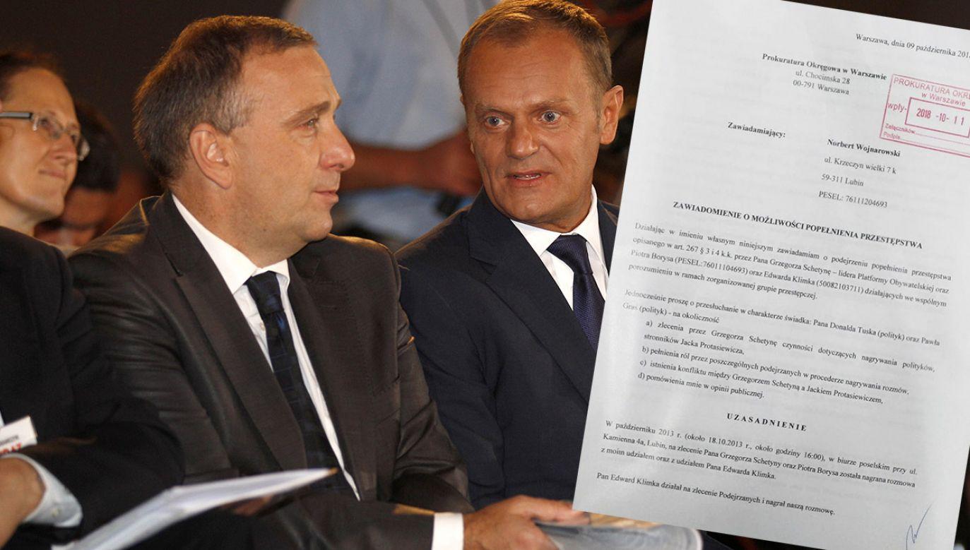 Grzegorz Schetyna odpowie za partyjną wojnę z Donaldem Tuskiem z 2013 r.? (fot. REUTERS/Peter Andrews)