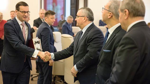 Poparcie dla premiera wzrosło (fot. Flickr/ KPRM)