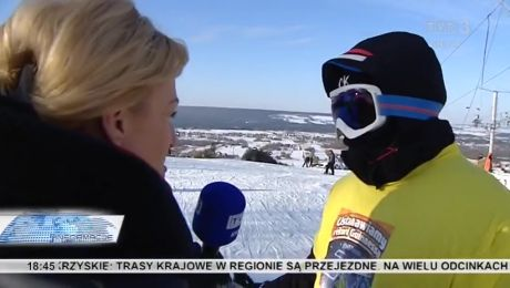 24 godziny jeździł na nartach i ustanowił rekord Guinessa