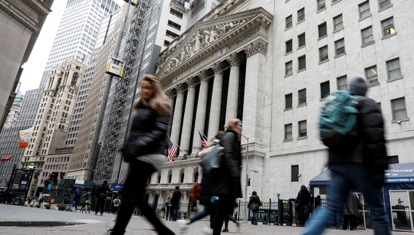 Wall Street (fot. REUTERS/Brendan McDermid)