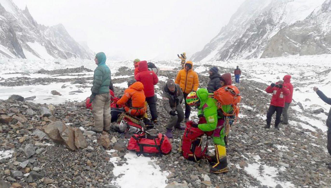 Trofeum Fair Play przyznano za akcję ratunkową na Nanga Parbat (fot. Narodowa Zimowa Wyprawa na K2)