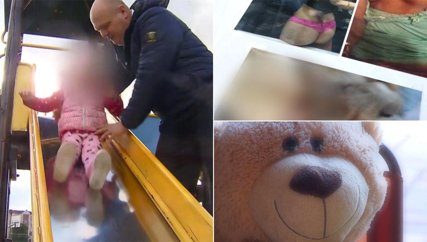 O przyszłości 4-letniej Nicoli zdecyduje sąd (fot. TVP1)