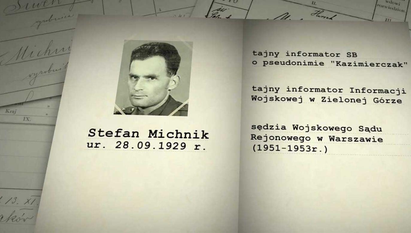 Stefan Michnik podejrzany jest o popełnienie trzydziestu przestępstw stanowiących zbrodnie komunistyczne (fot. TVP)