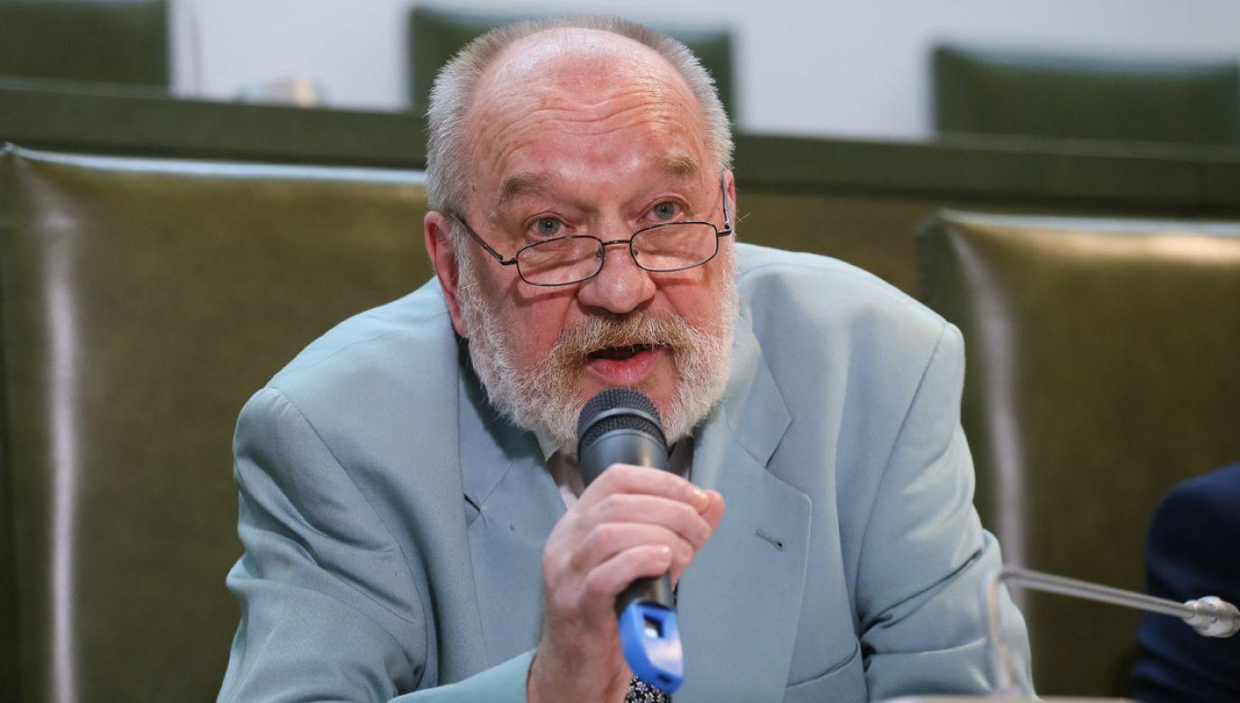 Wg poratlu onet.pl prezes SN Iwulski orzekał nie w jednym, jak sam twierdzi, lecz w kilku procesach politycznych za czasów PRL (fot. arch. PAP/Paweł Supernak)