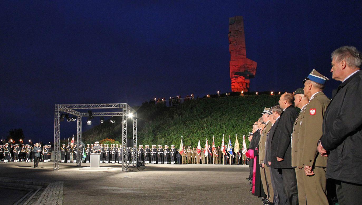 Szef MON poinformował, że prezydent Gdańska nie zaprosił wojska na uroczystości 1 września na Westerplatte (fot. arch.PAP/Piotr Wittman)