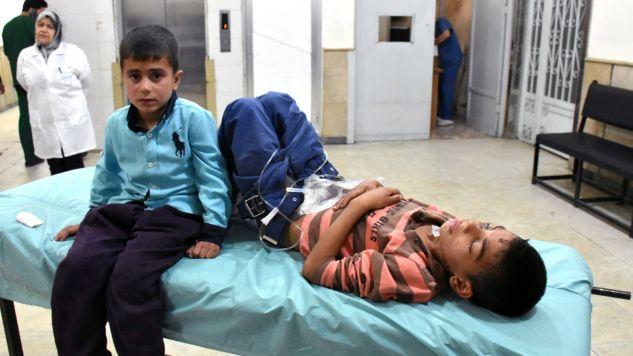 Szpitale w Syrii potrzebują dużego wsparcia (fot. PAP/EPA/SANA)