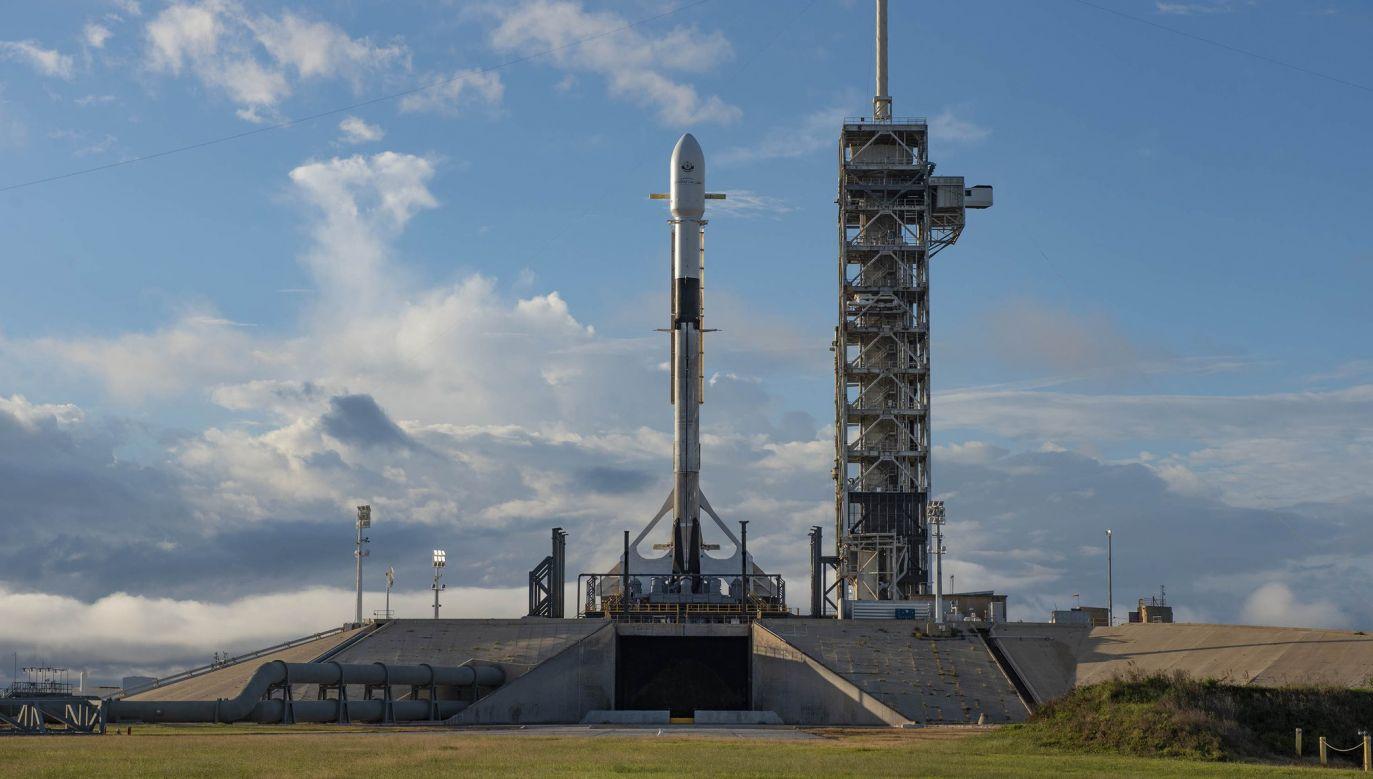 Rakieta Falcon 9 (fot. Space X/Twitter)