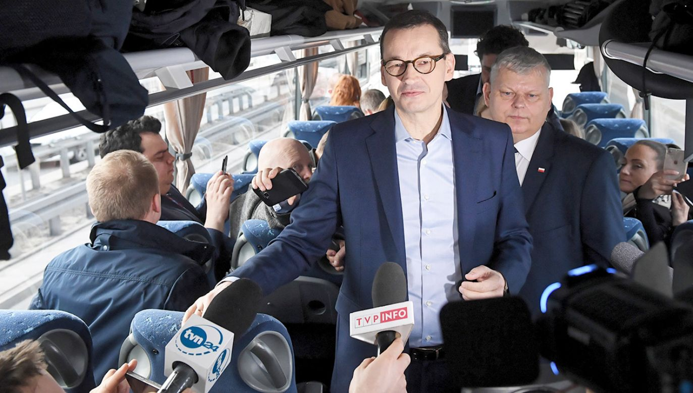 Premier Mateusz Morawiecki (fot. PAP/Radek Pietruszka)