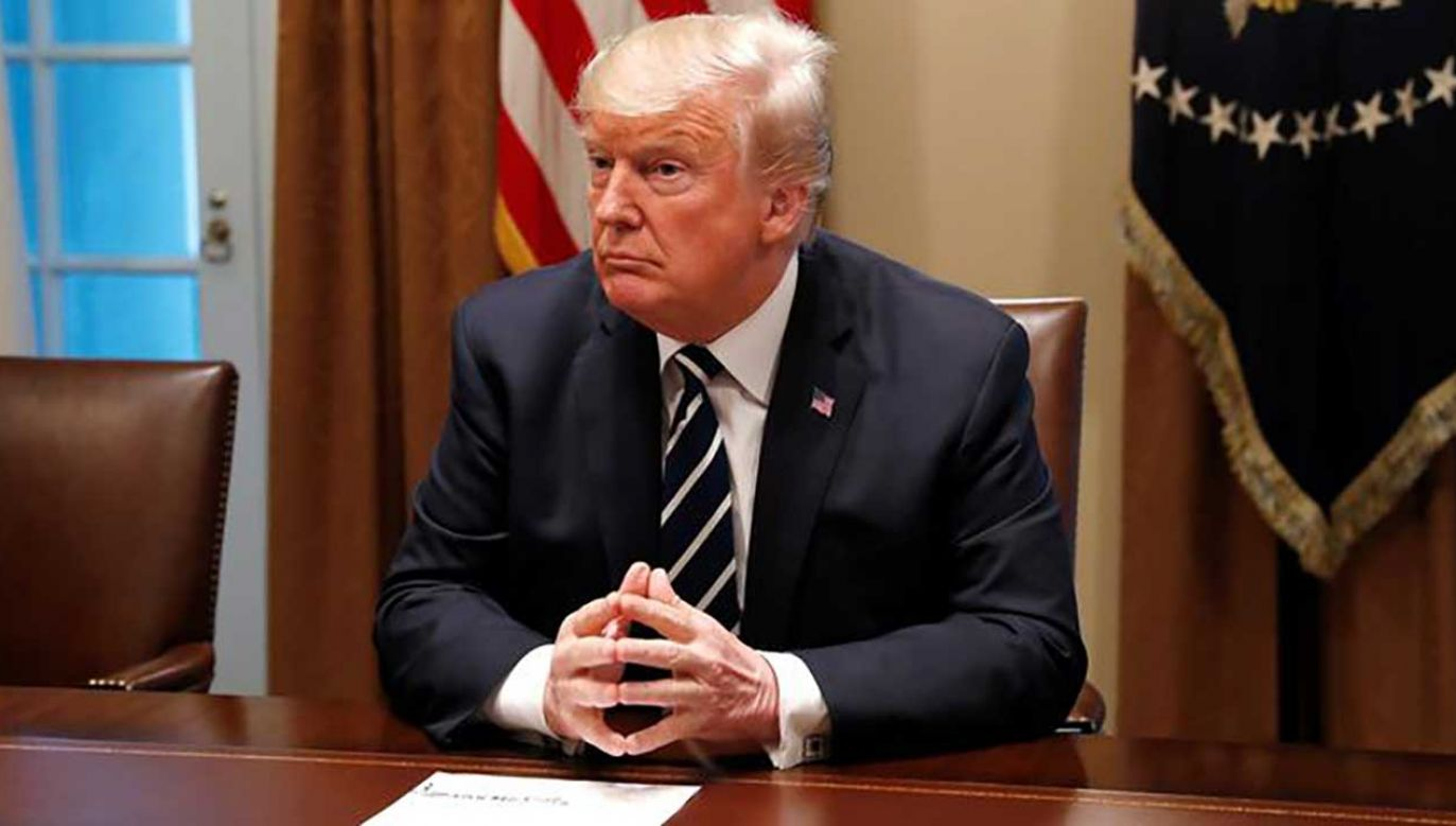 Prezydent USA Donald Trump (fot.  REUTERS/Leah Millis)