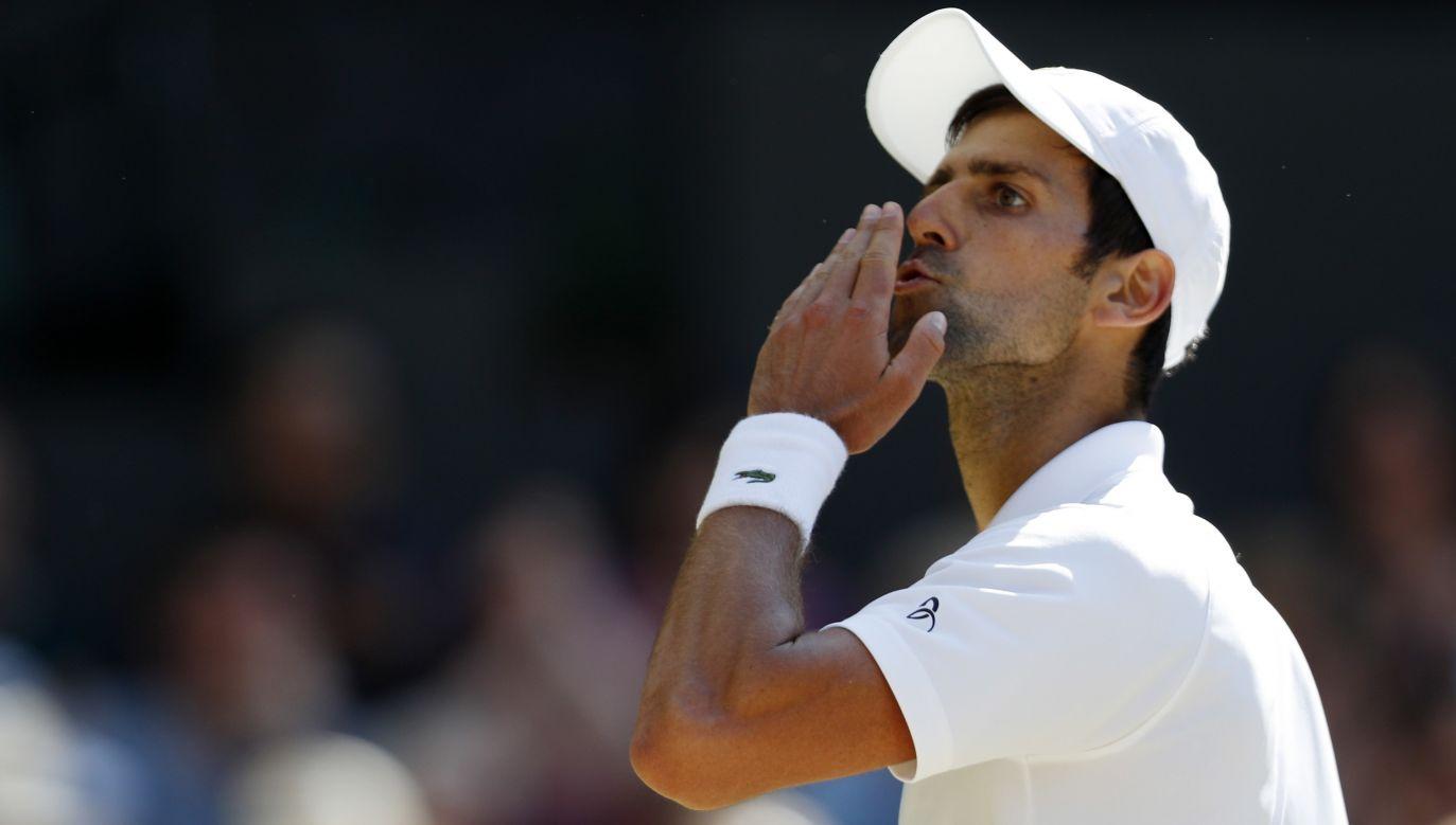 Novak Djoković wygrał Wimbledon w wielkim stylu (fot. PAP/EPA)