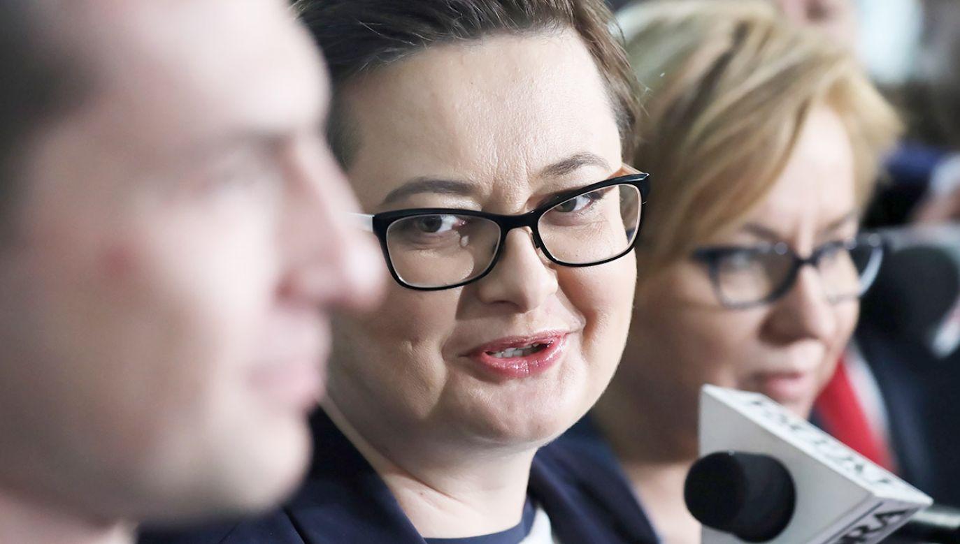 Katarzyna Lubnauer (fot. PAP/Tomasz Gzell)