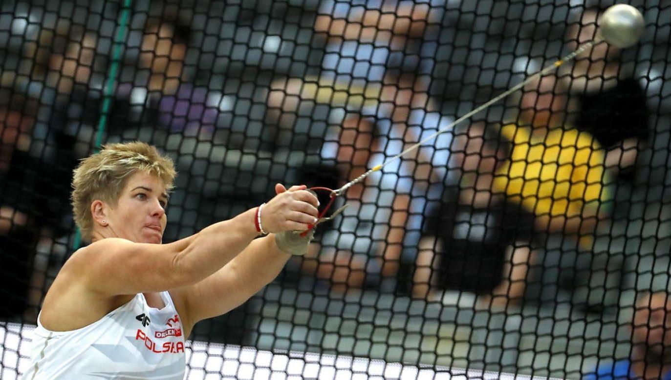 Anita Włodarczyk po raz czwarty z rzędu zdobyła mistrzostwo Europy w rzucie młotem (fot. PAP/EPA/FELIPE TRUEBA)