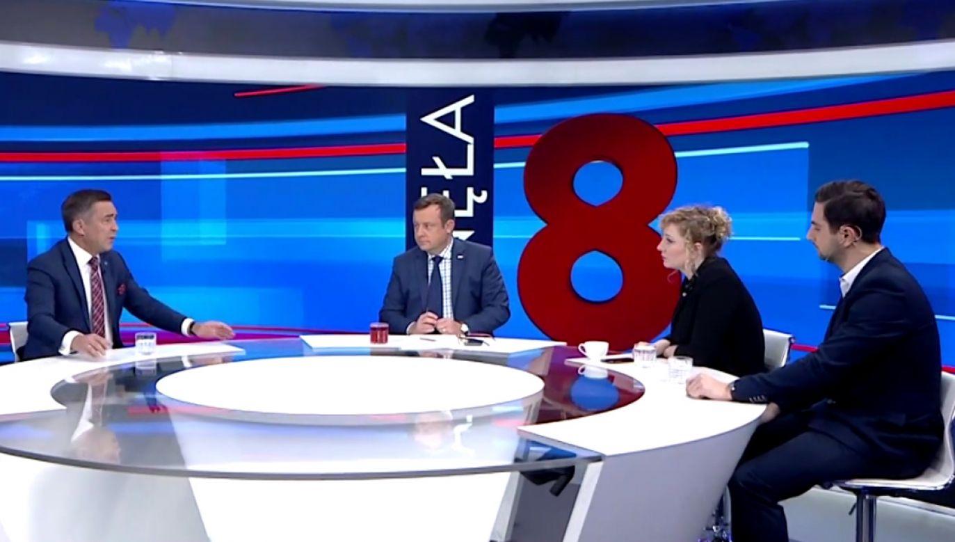 Politycy o taśmach ujawnionych przez portal tvp.info (fot. TVP Info)