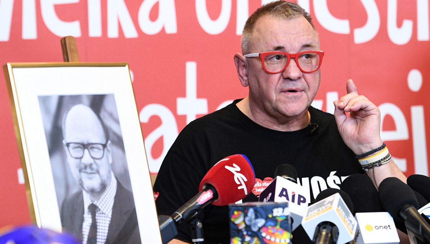 Szef WOŚP zapewnił, że jego fundacja jest do dyspozycji jeśli chodzi o wyjaśnianie okoliczności wydarzeń z Gdańska (fot. arch. PAP/Jacek Turczyk)