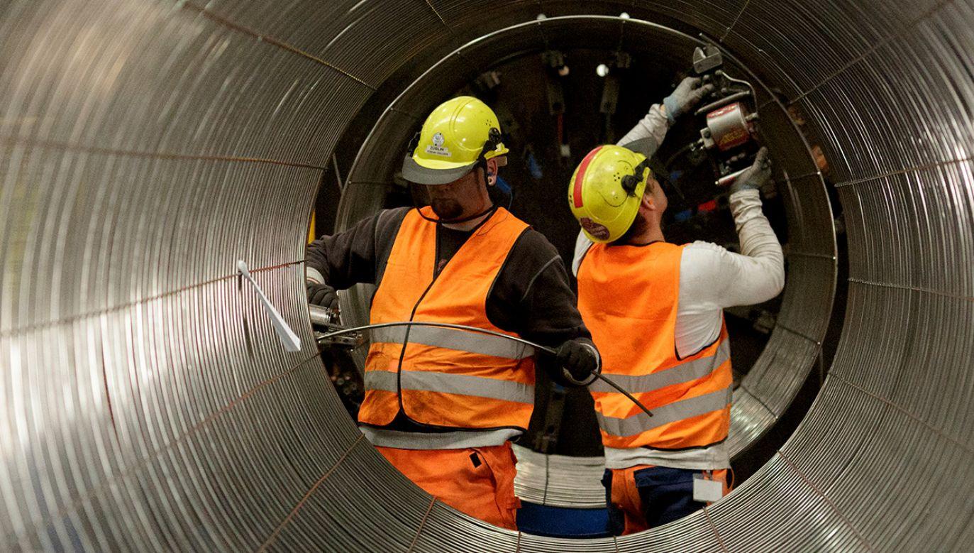 Prace przy budowie Nord Stream 2 trwają (fot. Carsten Koall/Getty Images)