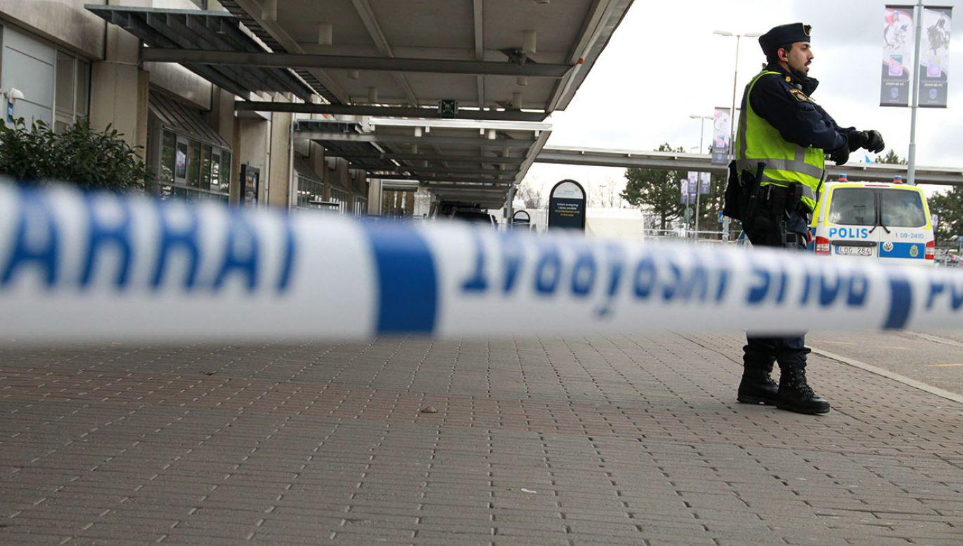 Mężczyzna został zatrzymany w czwartek w zachodniej Szwecji (fot. REUTERS/Frida Winter / TT News Agency, zdjęcie ilustracyjne)