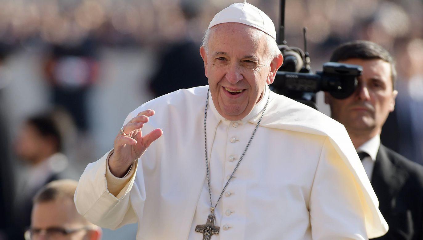 Papież Franciszek powiedział, że kłótnie w rodzinie są rzeczą normalną i nie zawsze szkodliwą (fot. arch. PAP/Abaca)