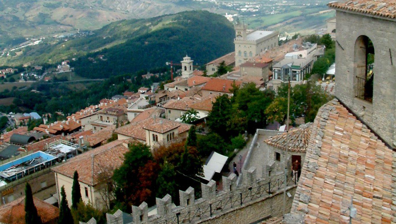 San Marino uważane jest za najstarszą istniejącą republikę świata (fot. Wikimedia Commons)