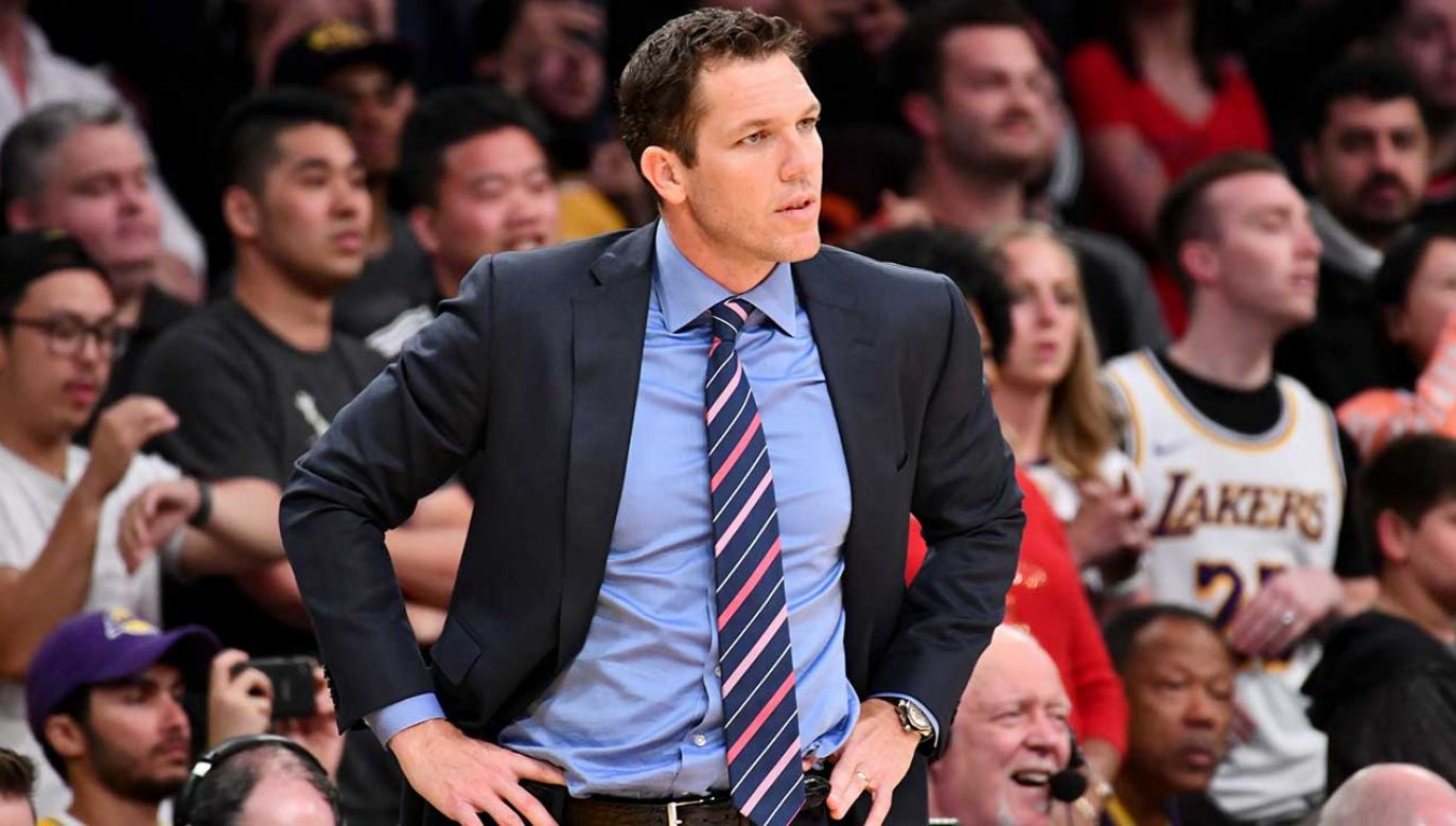 Trener Sacramento Kings Luke Walton (fot. Allen Berezovsky/Getty Images)