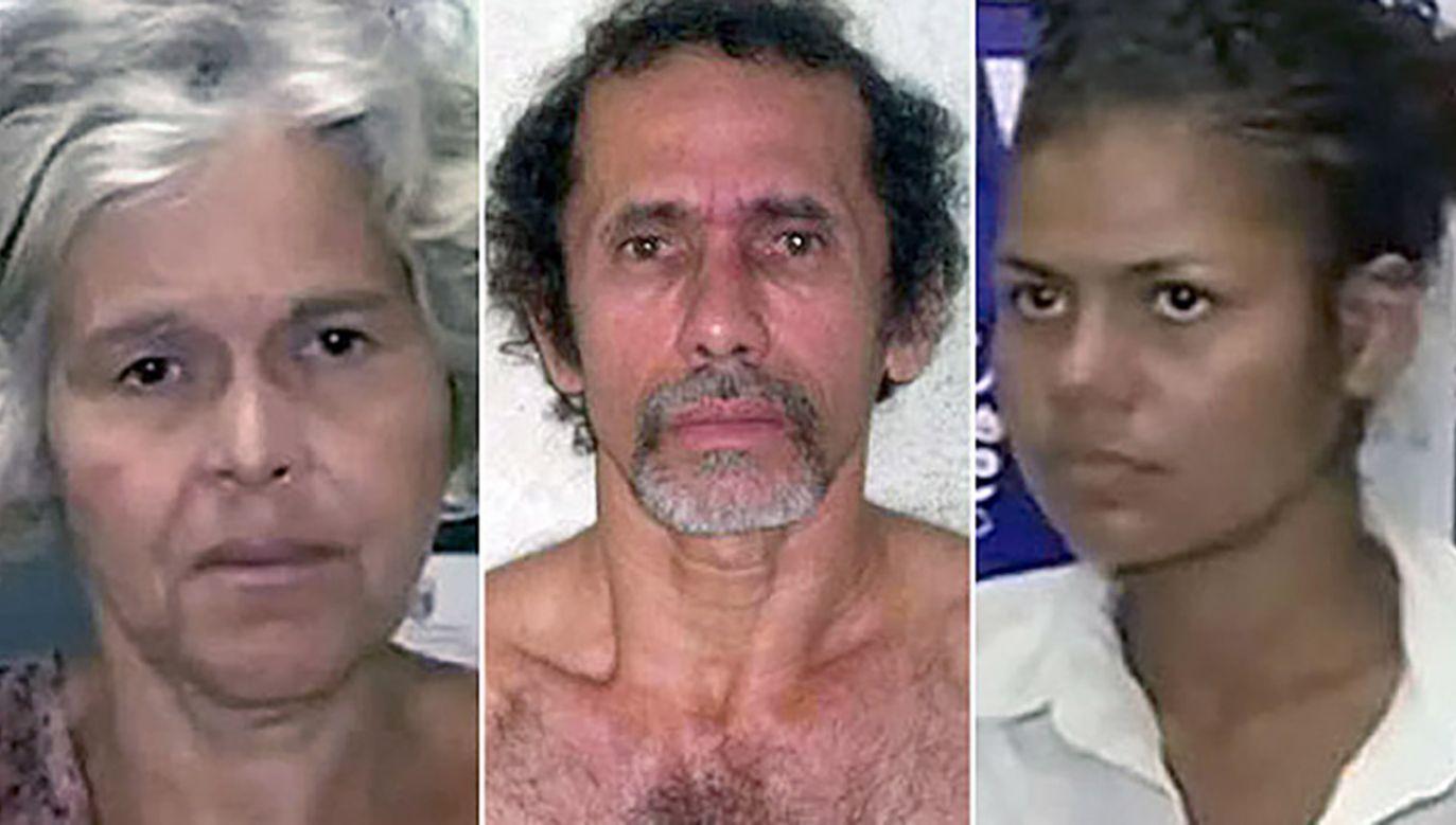 """Media okrzyknęły trójkę """"kanibalami z Garnhaus"""" (fot. Handout /Policja)"""