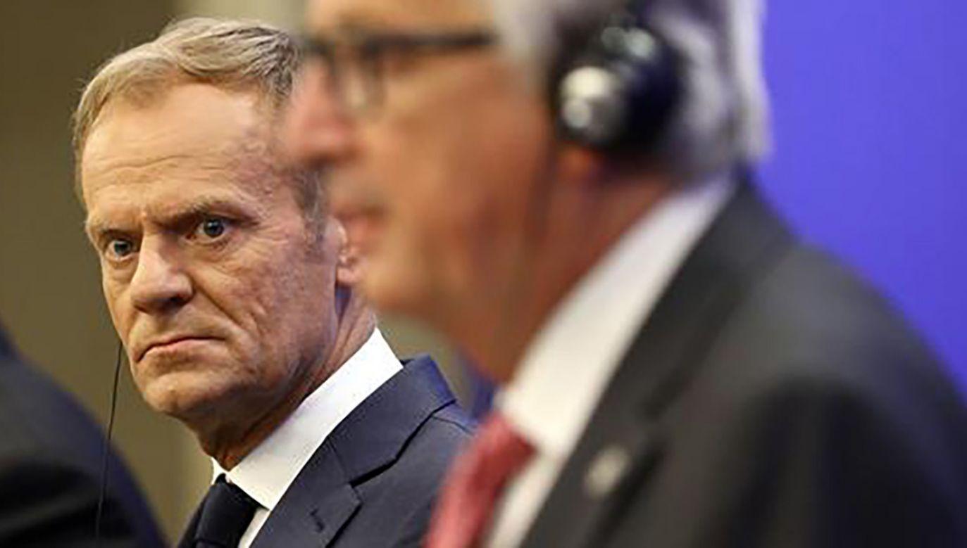 Tusk miał nie zgodzić się na inicjatywę kanclerz Angeli Merkel (fot. REUTERS/Stoyan Nenov)