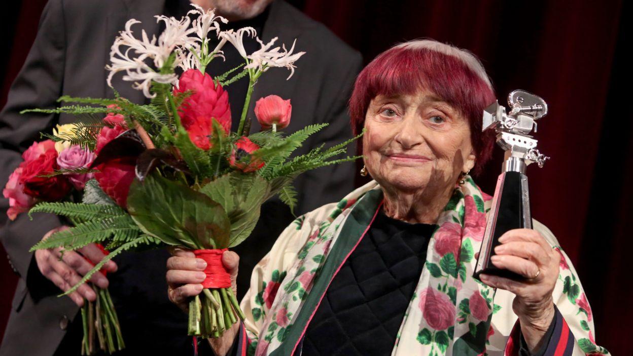Agnes Varda (fot. EPA/ADAM BERRY)