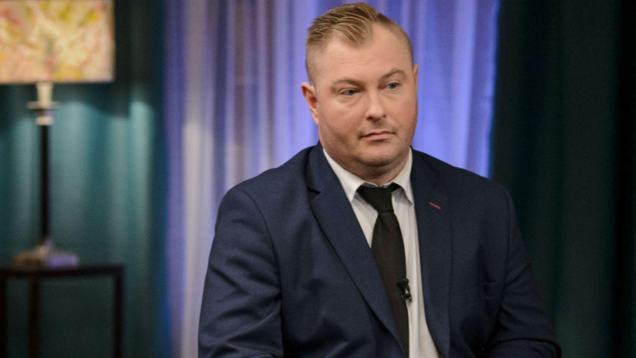 Łukasz przyznał, że zbyt późno podziękował Paulinie za udział w programie (fot. TVP)