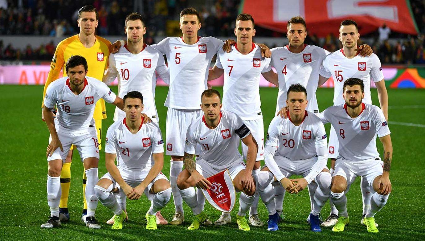 Reprezentacja Polski awansowała o jedną pozycję w najnowszym rankingu FIFA (fot. arch. PAP/Bartłomiej Zborowski)