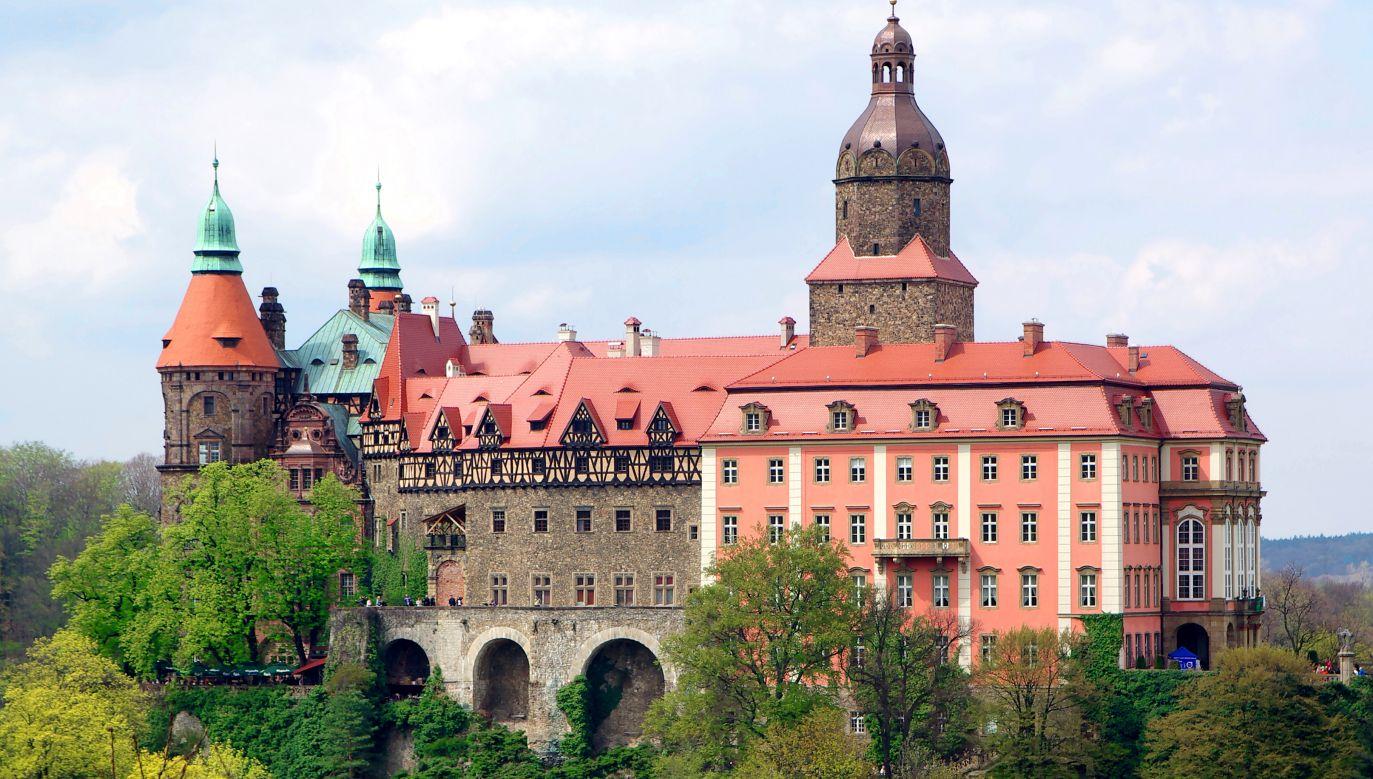 Książ Castle near Wałbrzych. Photo: Jakub Hałun/Wikimedia Commons (CC BY-SA 4.0)