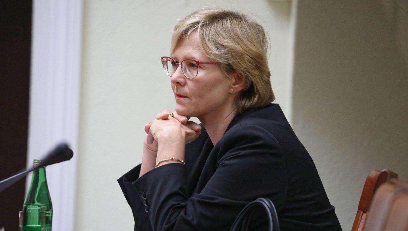 Agnieszka Dudzińska kandyduje do objęcia funkcji RPD (fot. arch. PAP/Tomasz Gzell)