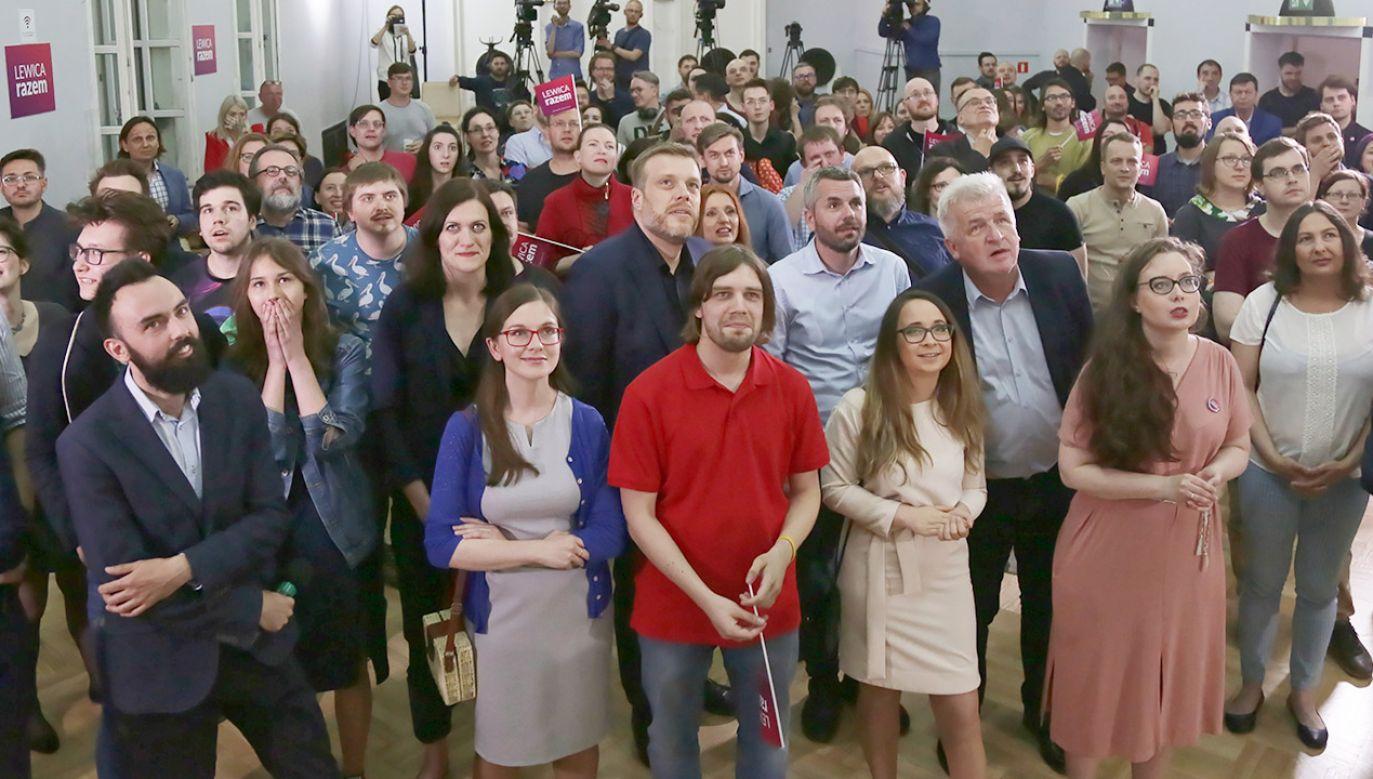 W PE nie znajdą się m.in. liderzy na listach partii, które znajdują się pod progiem wyborczym – Konfederacji czy KUKIZ'15 (fot. PAP/Wojciech Olkuśnik)