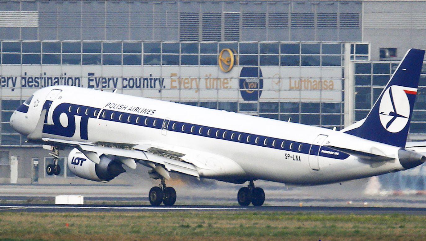 PGL docelowo skupi najważniejsze spółki Skarbu Państwa z branży lotnictwa pasażerskiego (fot. REUTERS/Kai Pfaffenbach)